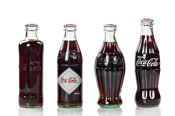Coca-Cola aniversario Vintage Collection - foto de stock