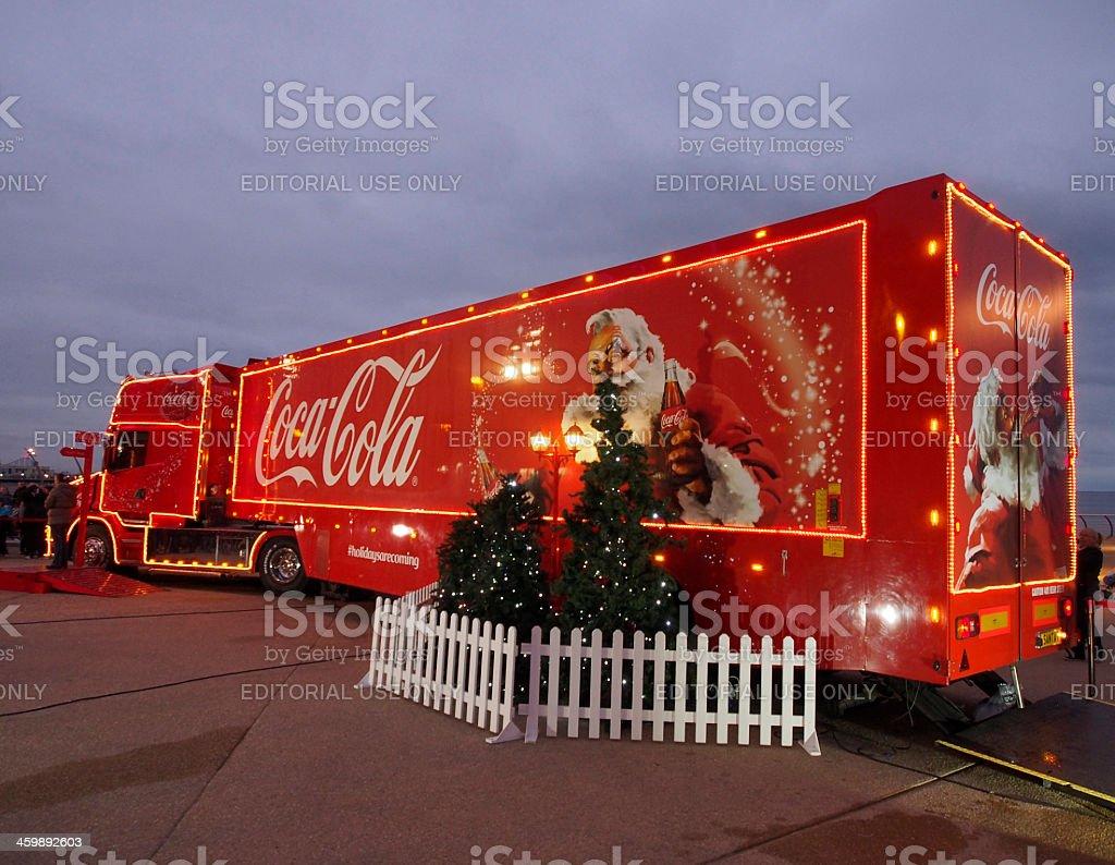Foto de Cocacola Caminhão De Natal Chega De Blackpool Reino