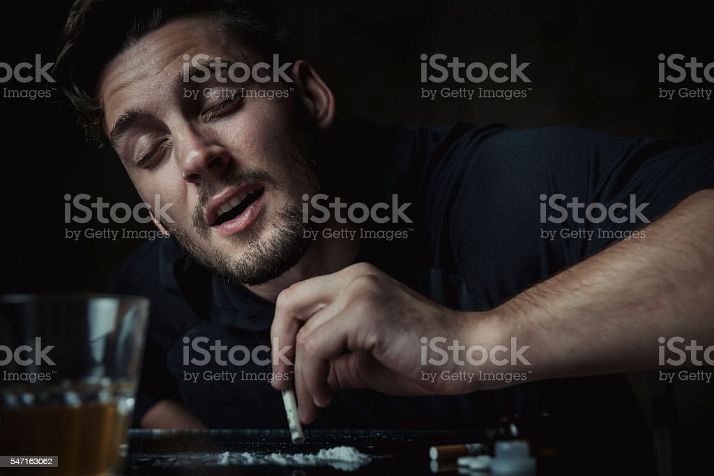 Cocaine stock photo
