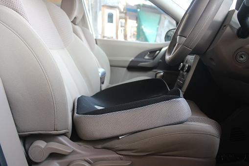 Coccyx memory foam seat cushion