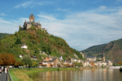 Cochem at Mosel River
