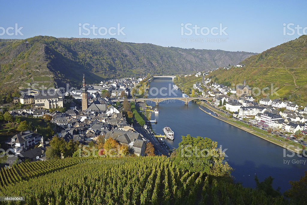 Cochem, Moselle River, Germany stock photo
