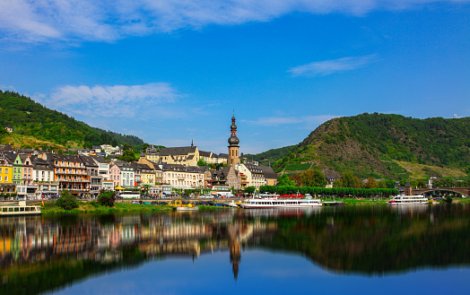 Cochem on the Mosel in Germany