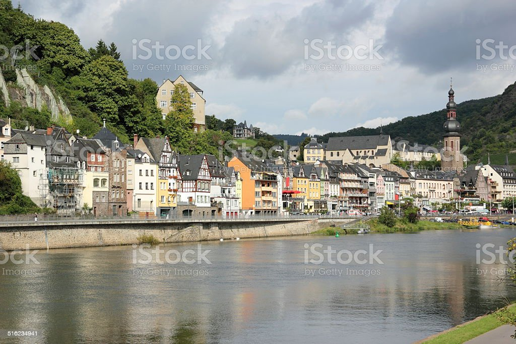 Cochem region at the heart of romantic Moselle Valley. stock photo