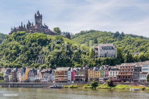 948424058istockphoto Cochem with castle along river Moselle in Germany 183502557