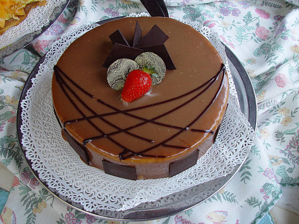 Cocholate cake  cocholate in cake stock pictures, royalty-free photos & images