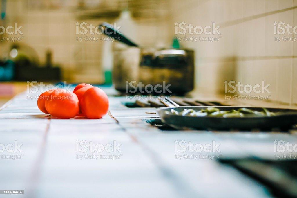 Cocinando - foto de stock