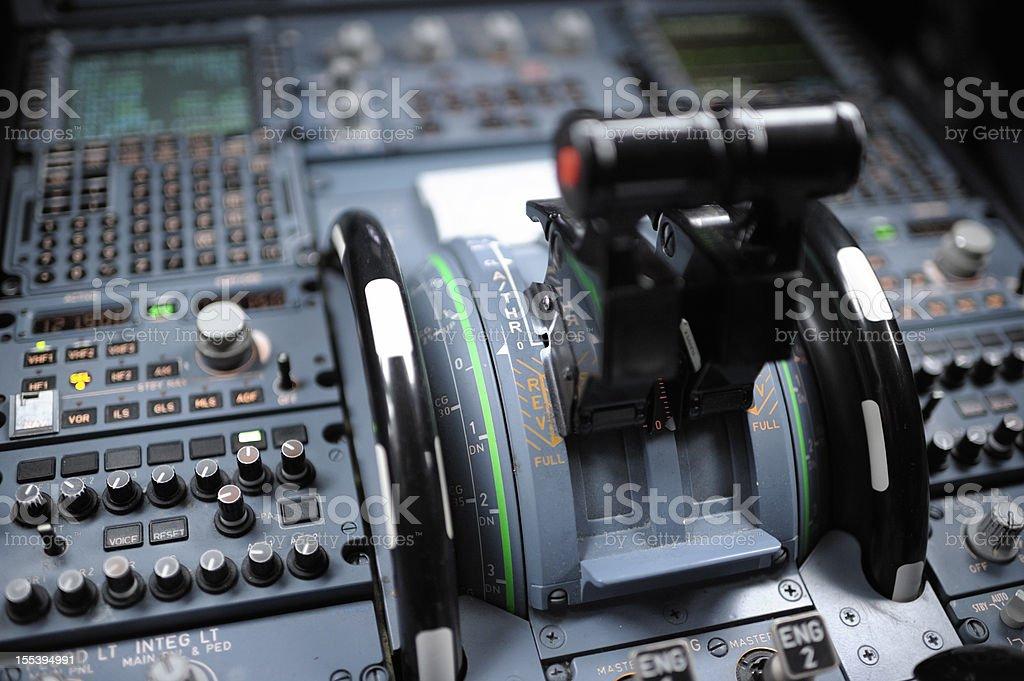 Cockpit Detail Airbus A320 – Foto