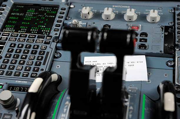 Best Airbus A320 Cockpit Stock Photos, Pictures & Royalty-Free