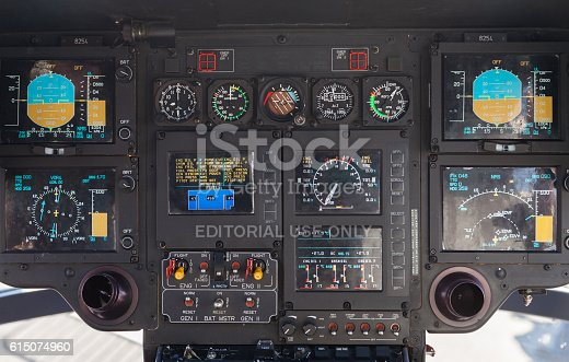istock cockpit in an airbus ec 135 helicopter from german army 615074960