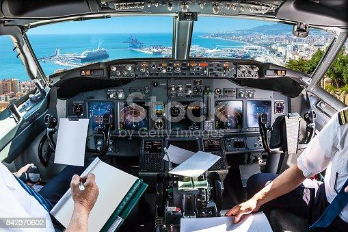 istock Cockpit  in port of Malaga 842370602