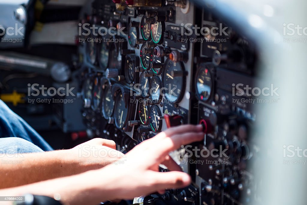 Cockpit Indicators Stock Photo - Download Image Now - iStock