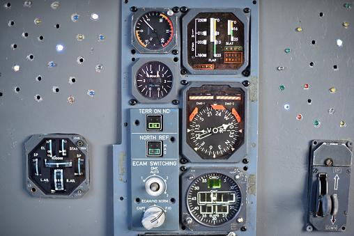 Cockpit instrument panel