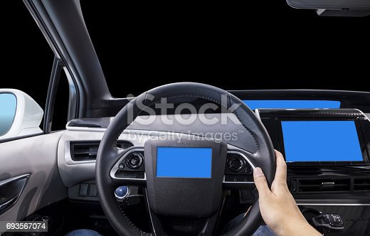 istock cockpit of futuristic vehicle and various displays 693567074