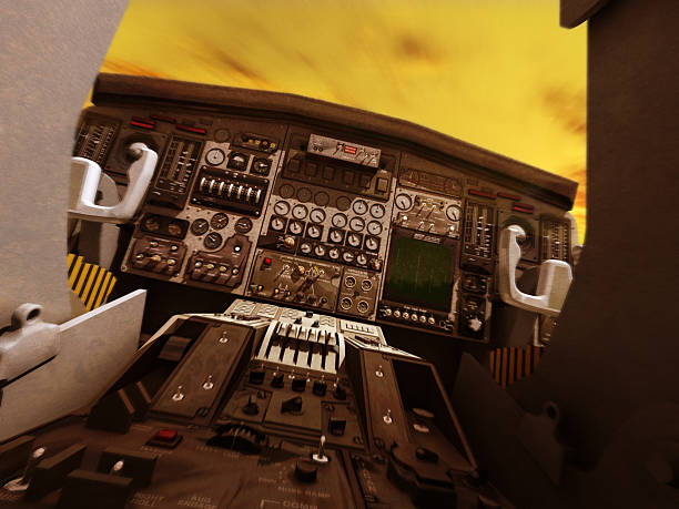 cockpit - sonic boom stock photos and pictures
