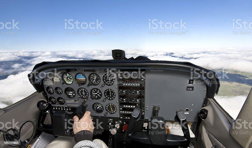 cockpit royalty-free stock photo