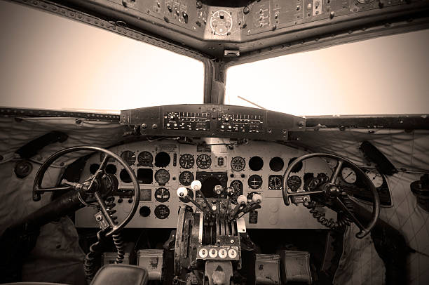 Cockpit Vintage - Photo