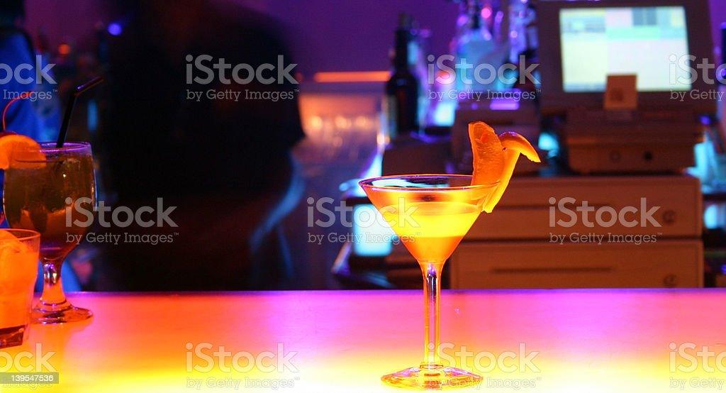 Cocktail - bar royalty-free stock photo