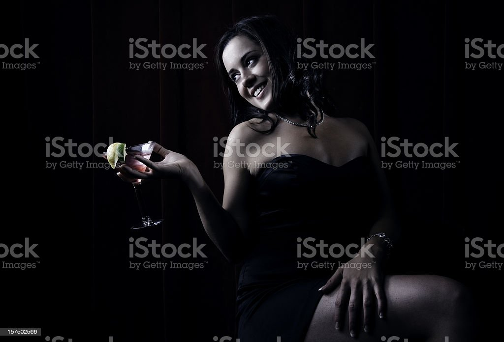 Cocktail Beauty stock photo