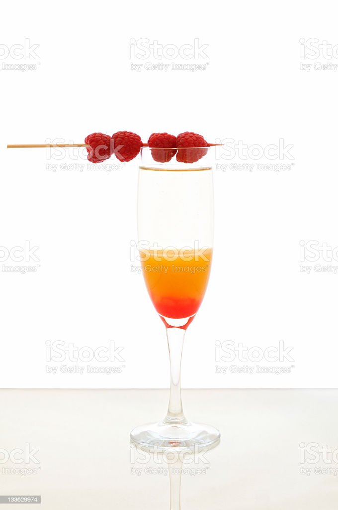 Cocktail Bellini stock photo