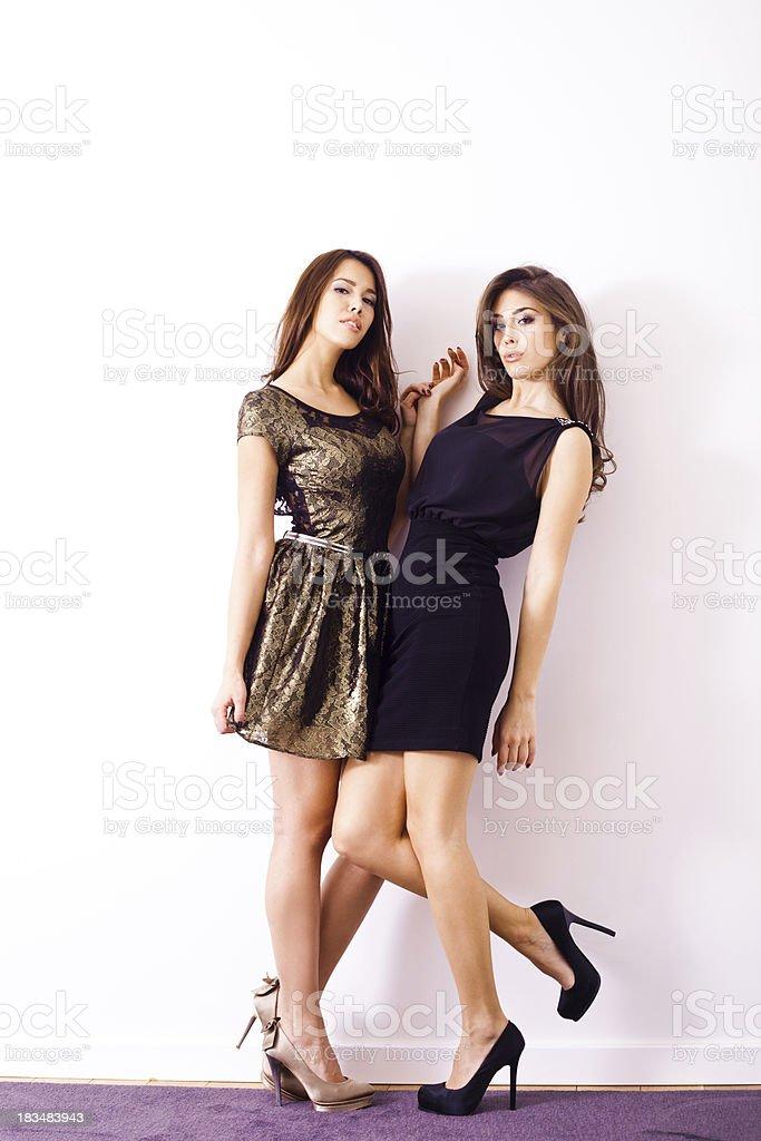 cocktail dresses stock photo