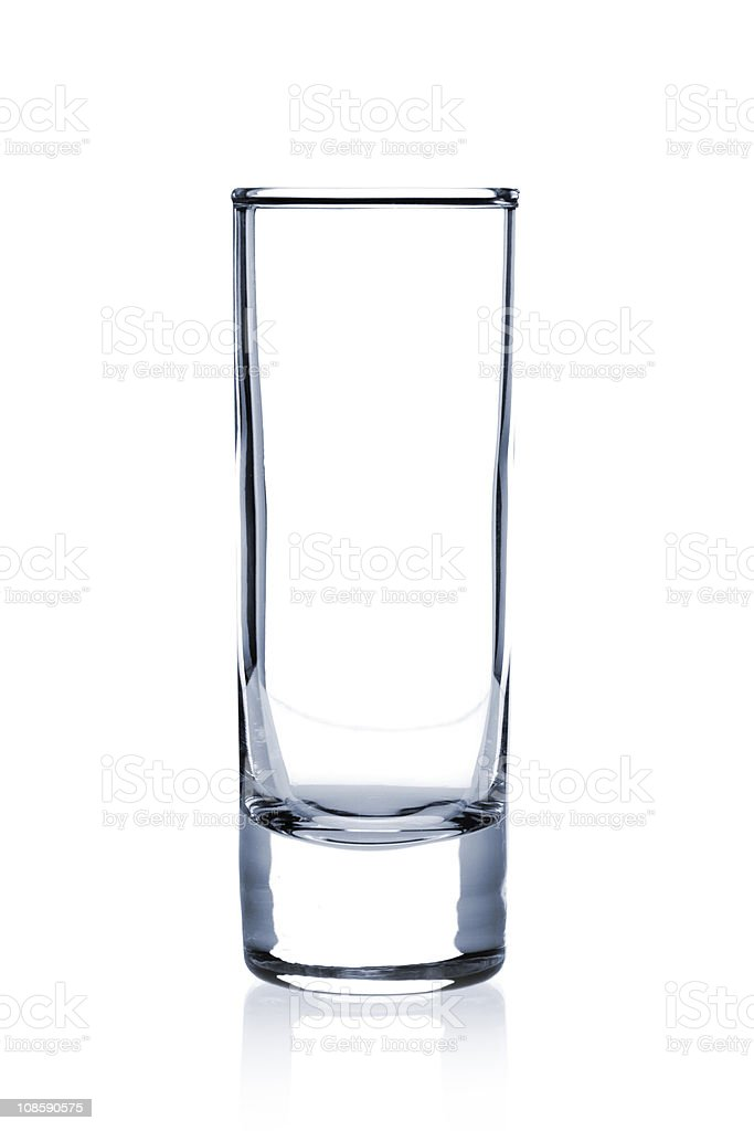 Cocktail Glass collection - Large Shot royalty-free stock photo