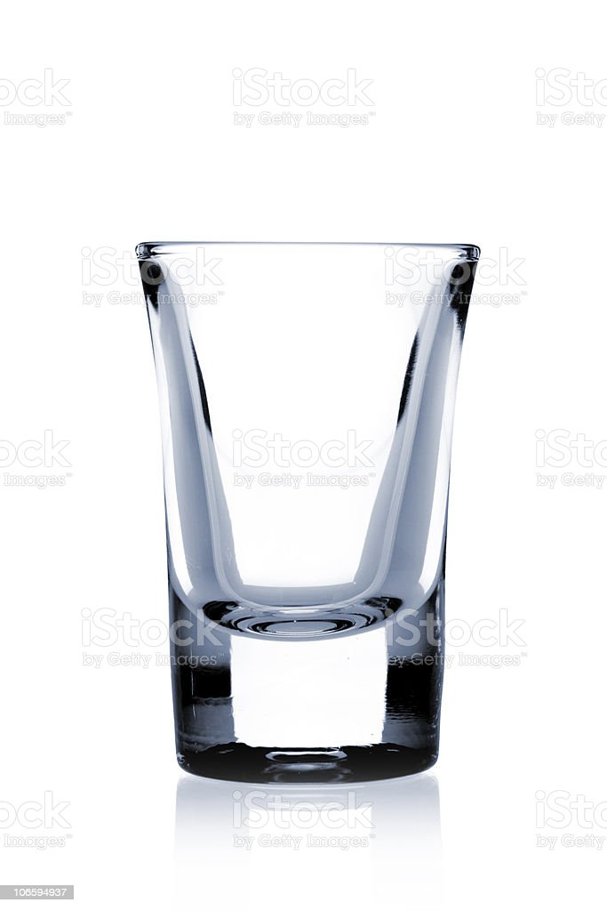 Cocktail Glass collection - Small Shot royalty-free stock photo