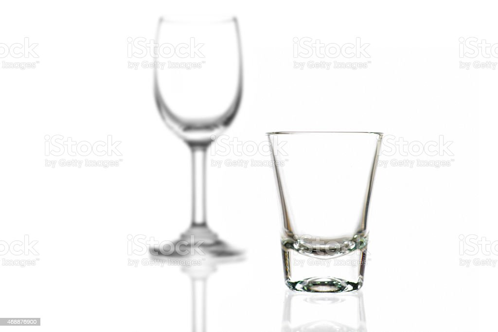 Cocktail Glass Collection Small Shot Stock Photo Download Image