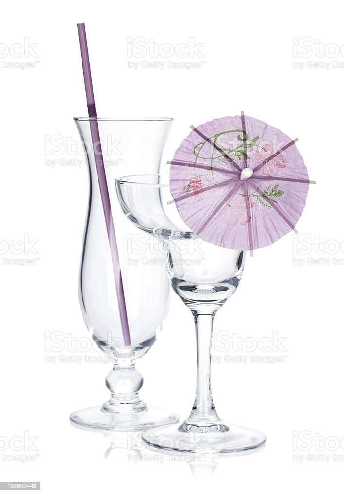 Cocktail glasses royalty-free stock photo