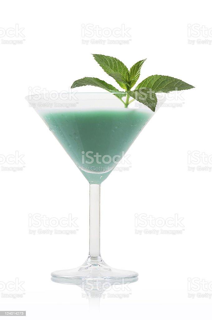 Cocktail Grasshopper stock photo