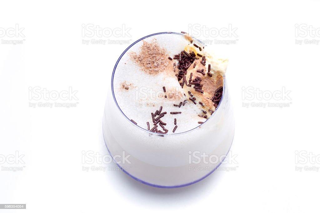 cocktail ice cream vainilla royalty-free stock photo