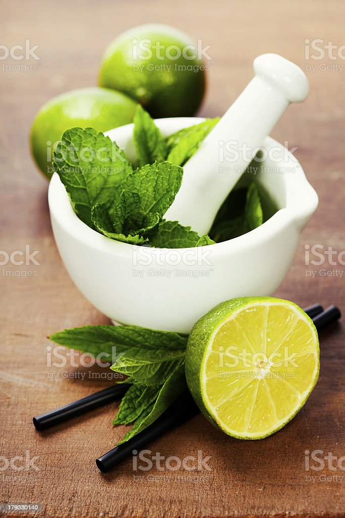 cocktail ingredients royalty-free stock photo