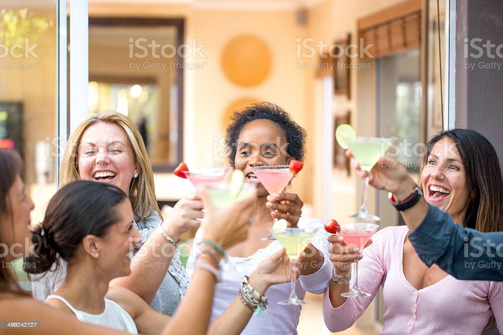 Cocktail ladies Party stock photo