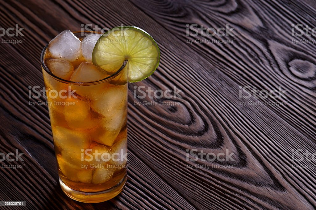 Cocktail Long Island Iced Tea stock photo