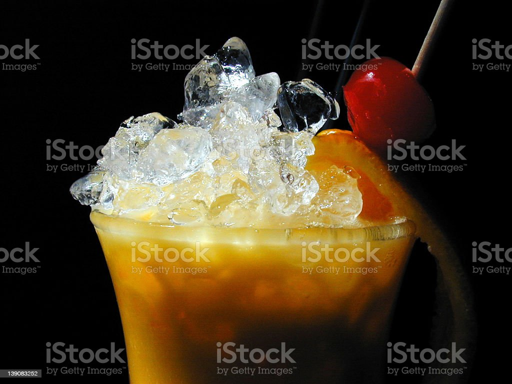 Cocktail mangomadness royalty-free stock photo