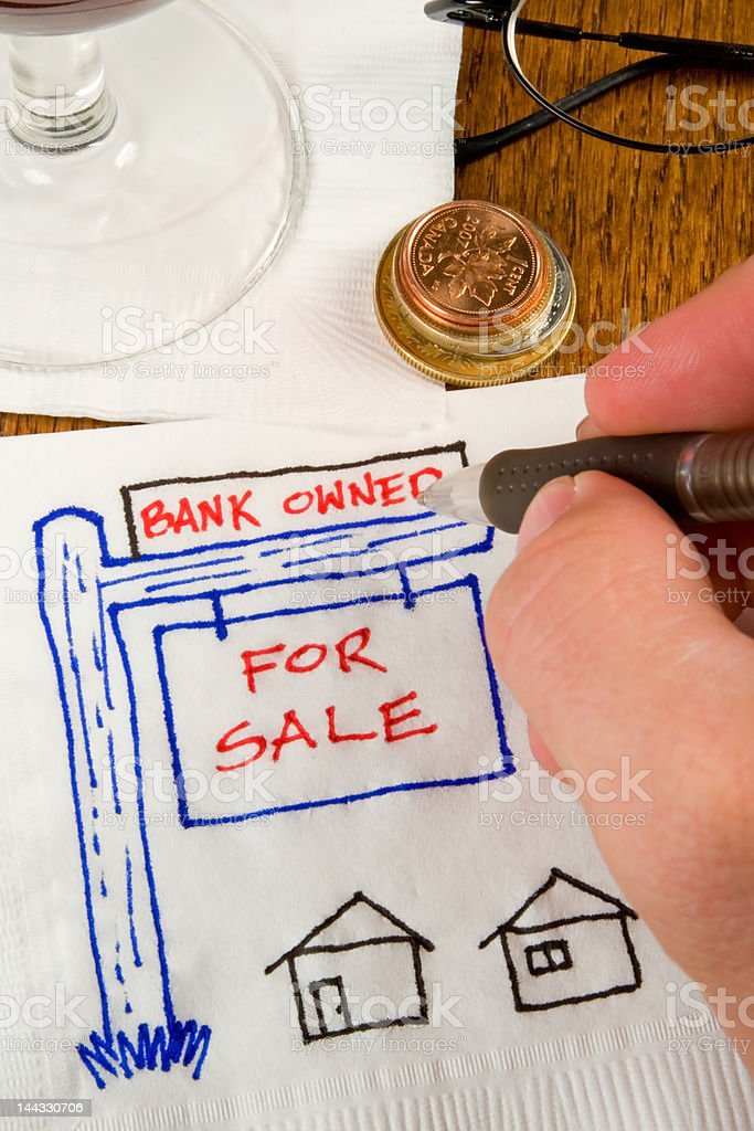 Cocktail Napkin Ideas royalty-free stock photo