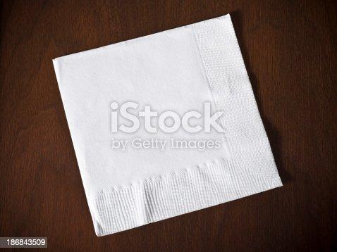 Paper bar towel coaster