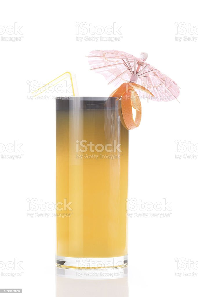 Cocktail mit orange Saft – Foto