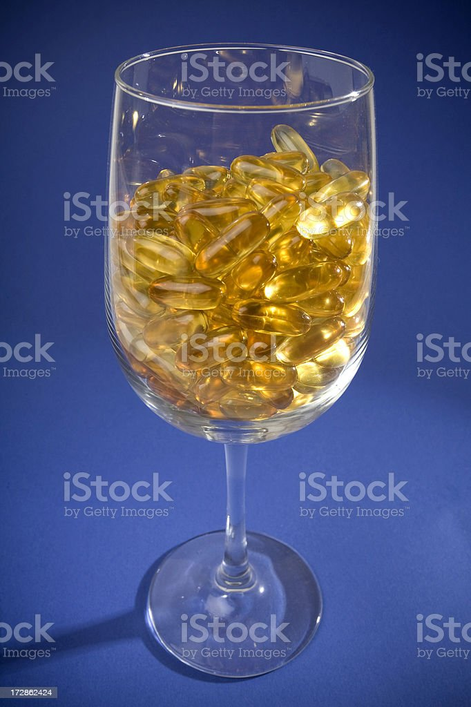 Cocktail of Pills royalty-free stock photo