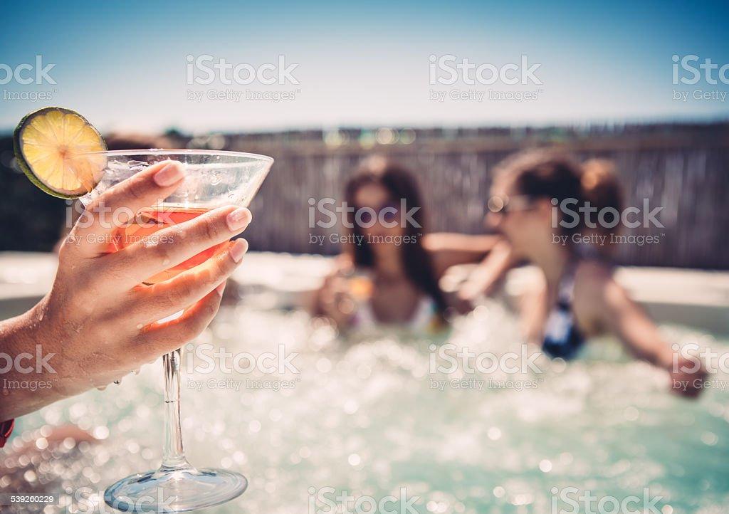 Cocktail dans le Jacuzzi#174 \;; - Photo