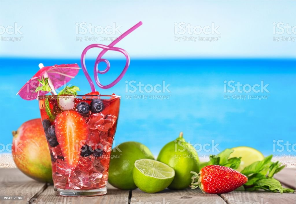 Cocktail. foto stock royalty-free