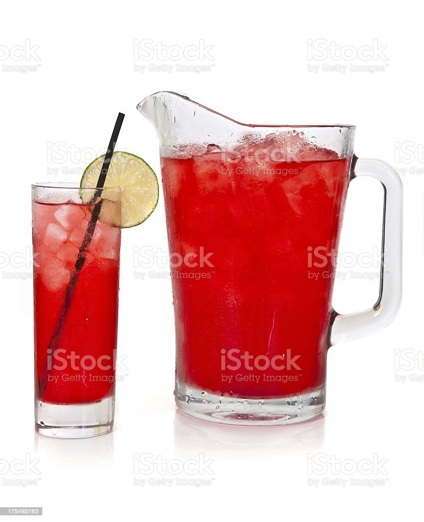 Cocktail pitcher stock photo