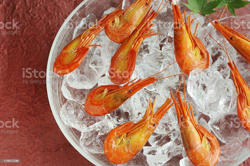 cocktail prawn royalty-free stock photo
