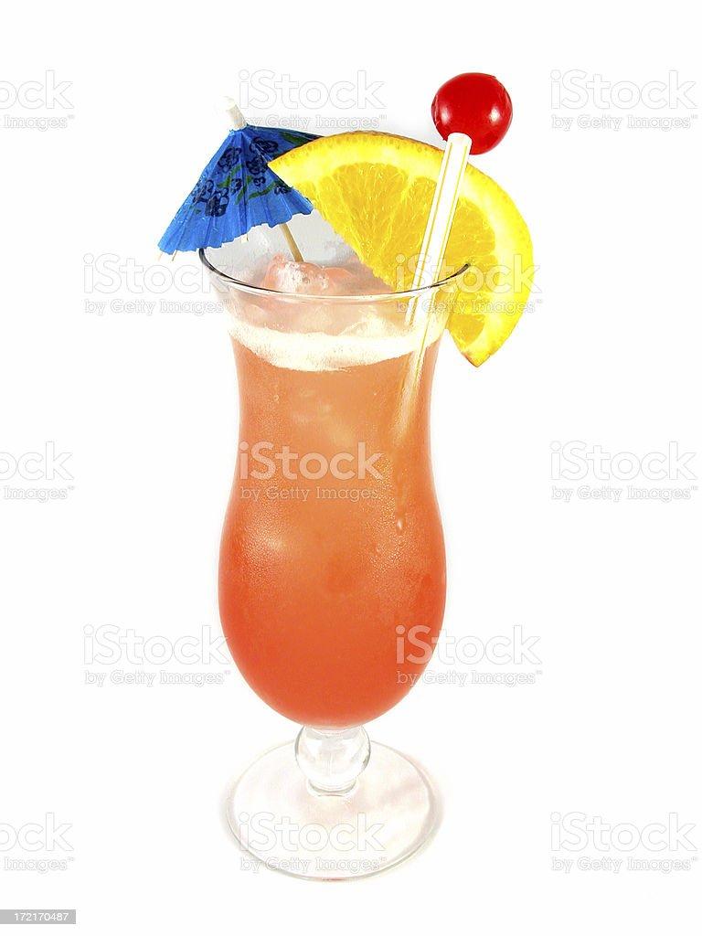 cocktail series: Bahama Mama. royalty-free stock photo