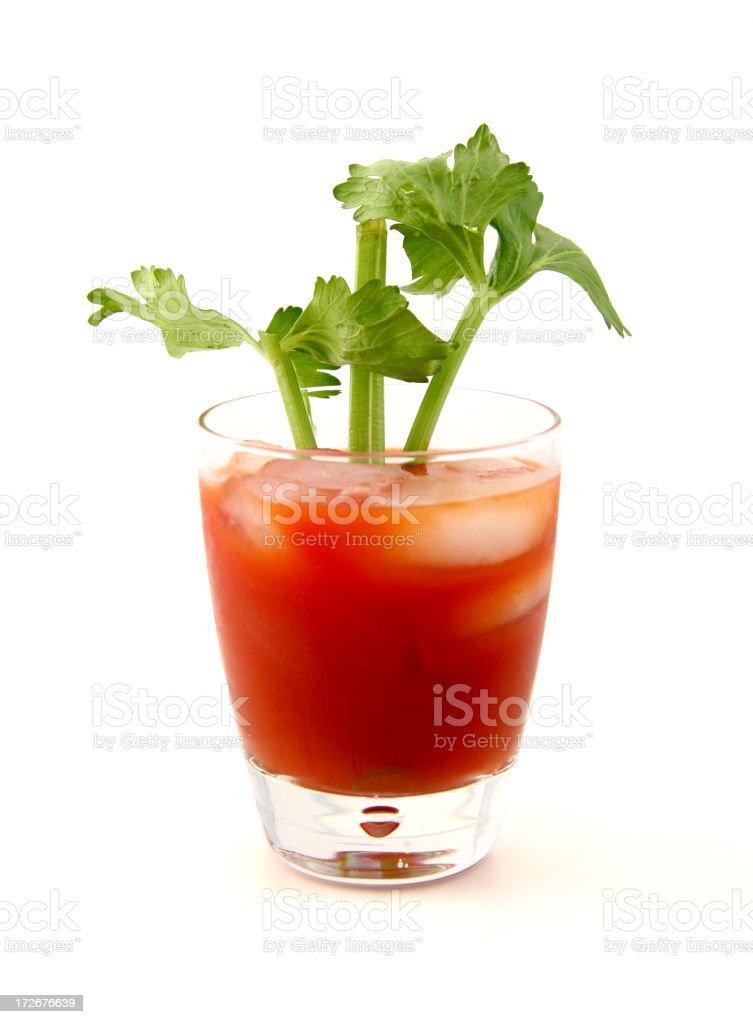cocktail series: Runner's Mark. stock photo