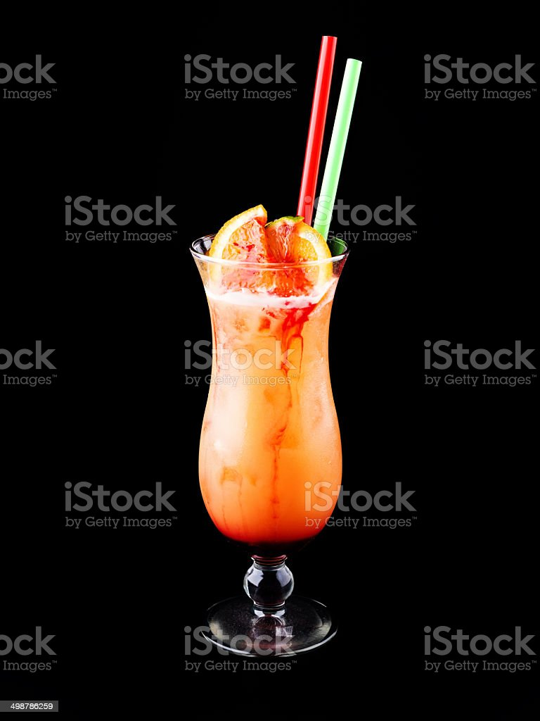 Cocktail Sex on the Beach stock photo