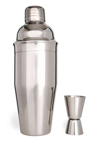 Cocktail shaker with measuring cup – zdjęcie