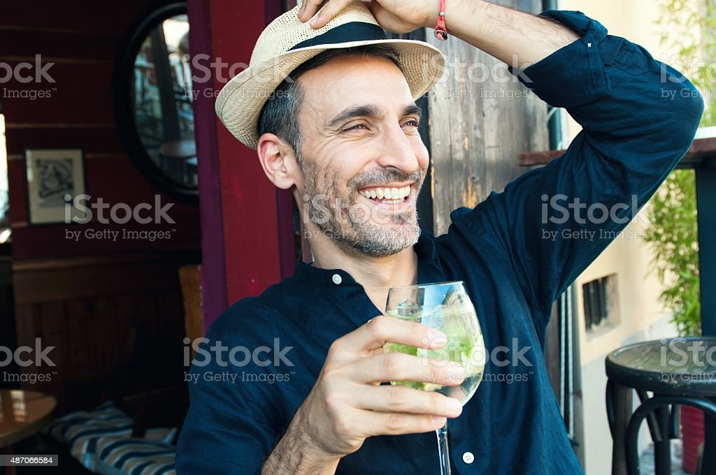 Cocktail time! stock photo