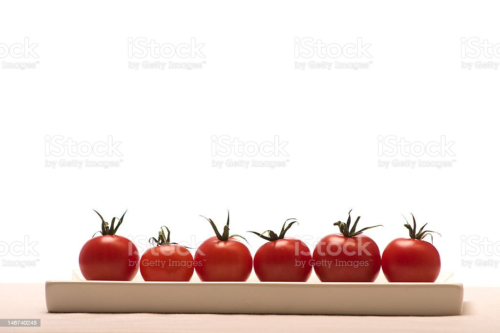 Cocktail tomatoes royalty-free stock photo