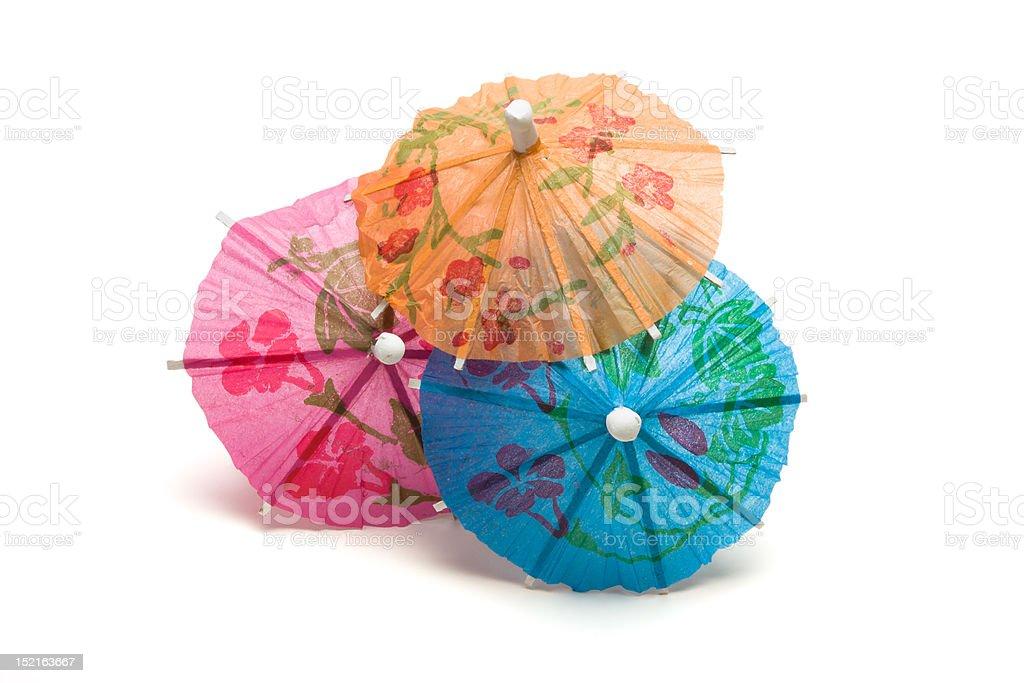 Cocktail Umbrella royalty-free stock photo
